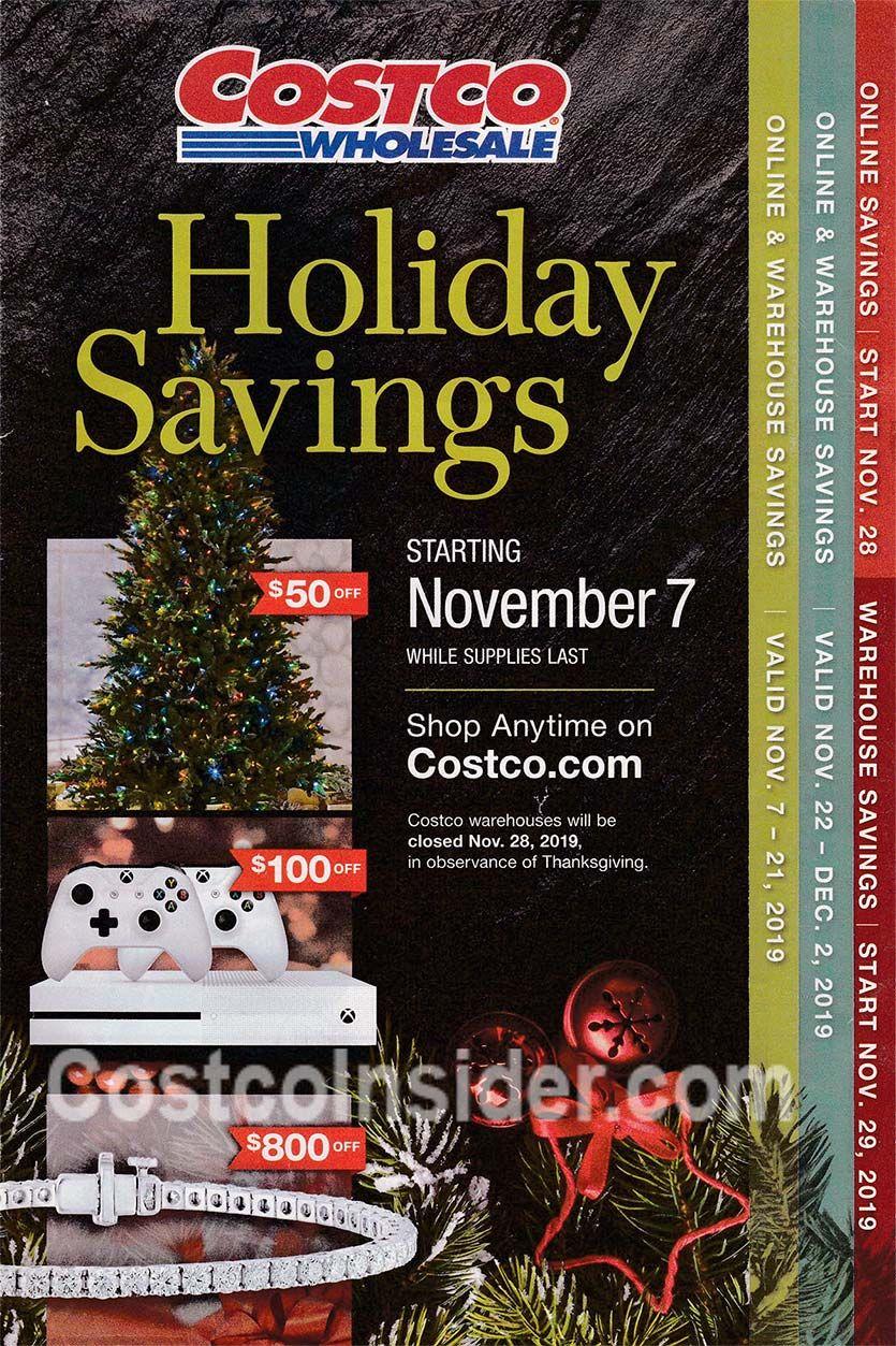 Costco Wholesale 2019 Black Friday Ad Black Friday Ads Holiday