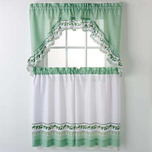 Kitchen Curtains Ideas 3 Unique Design Ideas