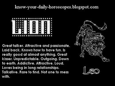 the leo horoscope for today