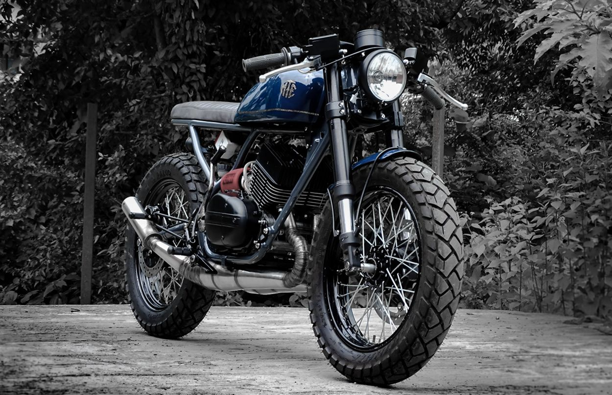 Yamaha Rd350 Custom By Moto Exotica Cafe Racer Bike India