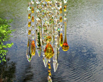 Crystal Wind Chimes Sun Catchers Chime By Crystalwindchime In 2020 Crystal Wind Chimes Wind Chimes Glass Wind Chimes