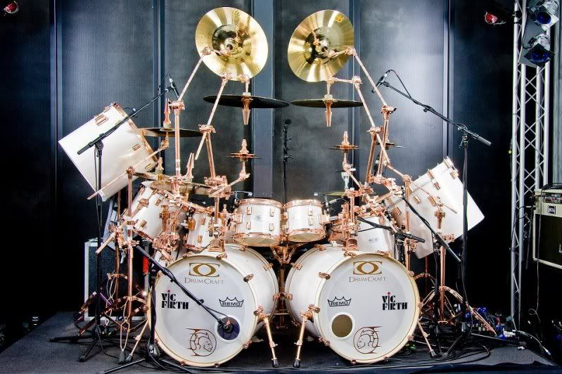 TSO Machines of Grace keep Jeff Plate\u0027s plate full | Drums Drum kit and Drum sets & TSO Machines of Grace keep Jeff Plate\u0027s plate full | Drums Drum ...