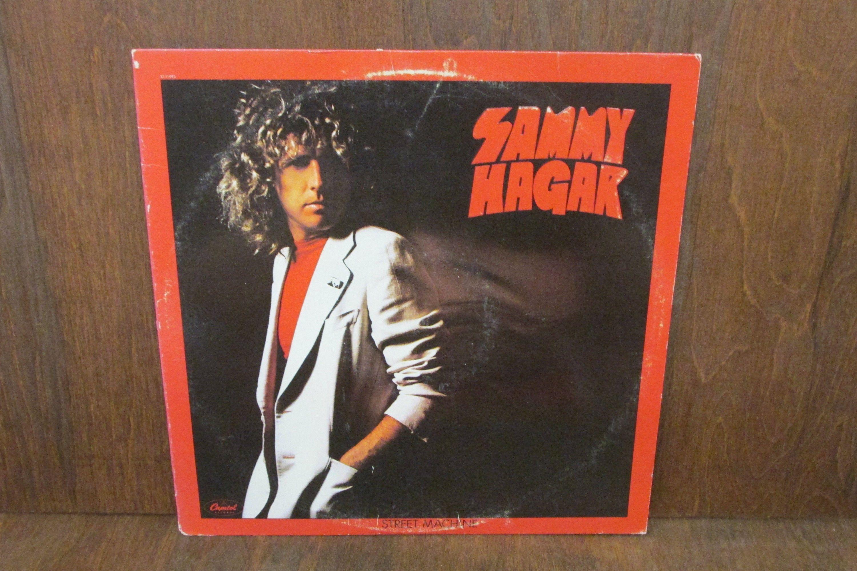 Sammy Hagar Street Machine Vintage Vinyl Record Etsy In 2020 Vintage Vinyl Records Vinyl Records Vinyl