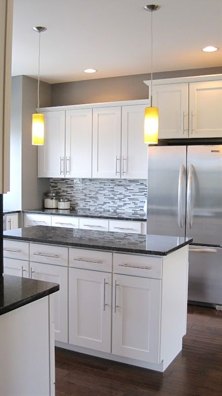 White Kitchen Cabinets Grey Countertops Kitchen Cabinets Grey