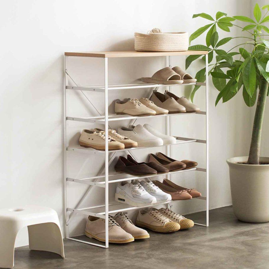 The Scandinavian Shoe Rack Minimalist Shoe Storage Style Degree Degree Minimalist Rack S In 2020 Scandinavian Shoe Rack Scandinavian Interior Design Rack Design