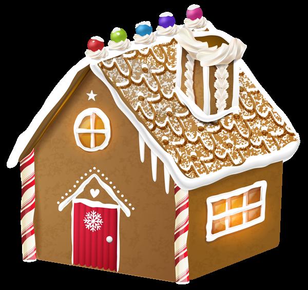 Gingerbread House Png Clipart Image Lebkuchenhaus Weihnachten Clipart