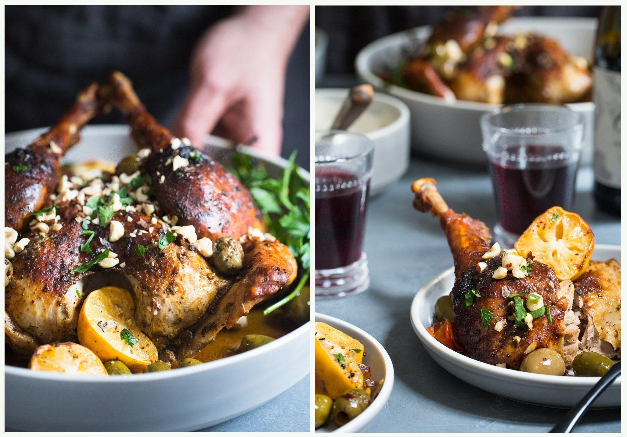 Petite Spanish Spatchcock Turkey with Smoked Paprika