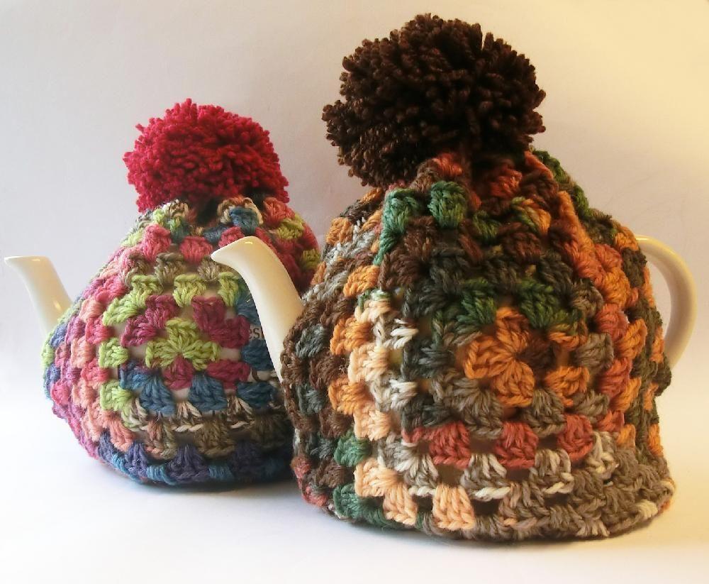 Granny Square Tea Cosy | Crochet | Pinterest