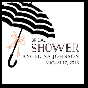 Umbrella Bows:Orange Sherbet