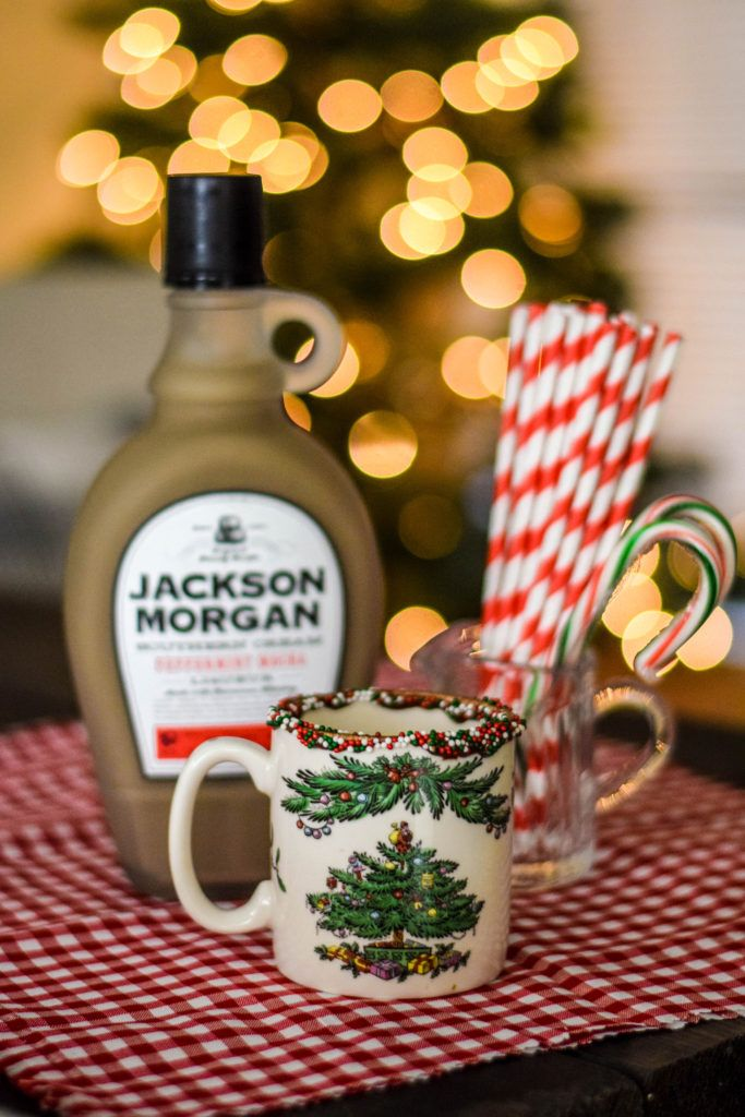 Peppermint Mocha Spiked Coffee Recipe in 2020 Spiked