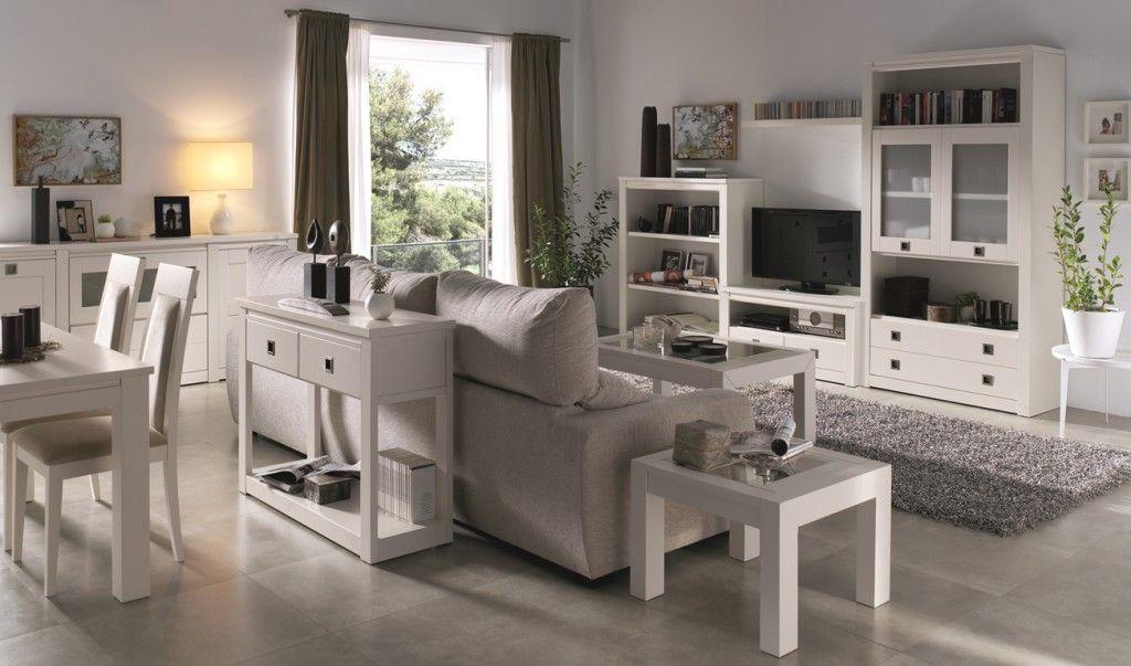 Muebles salon comedor casa modular for Muebles salon modulares