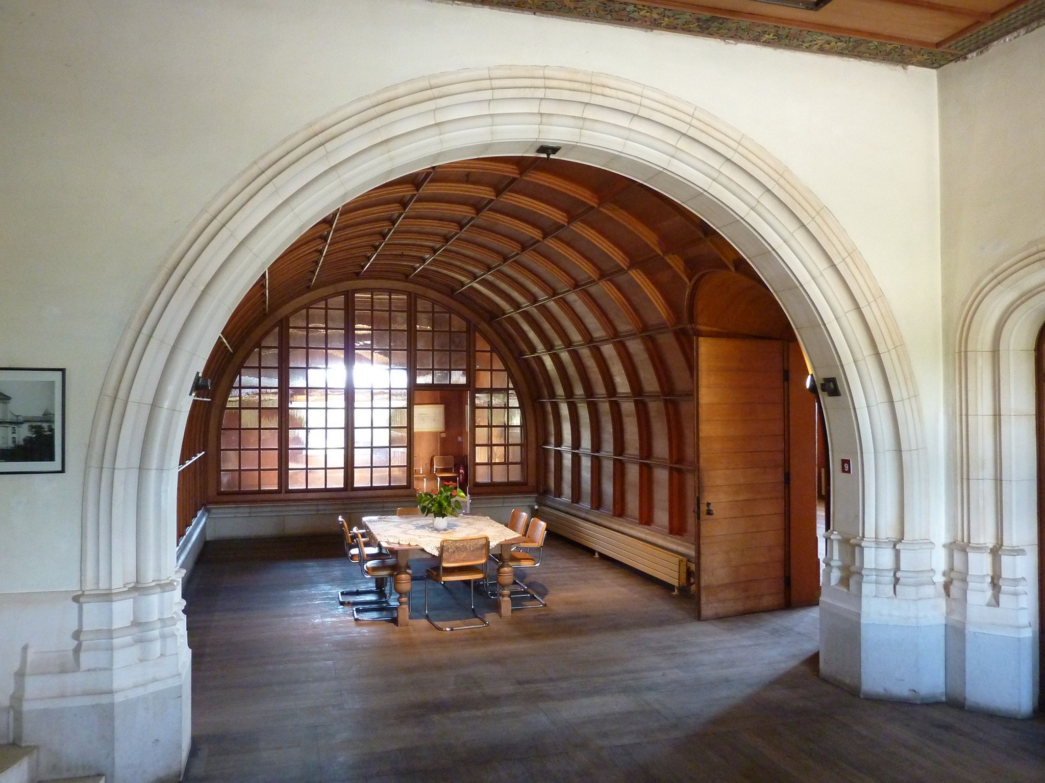 https://flic.kr/p/s9AzQS | Autre salle à manger au château Ripaille