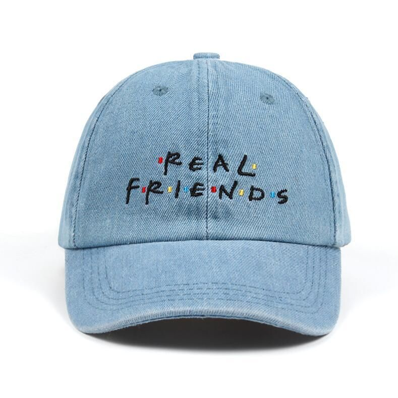 9c52f434a6e Brand Real Friends Hat Trending Rare Baseball Cap Kanye West