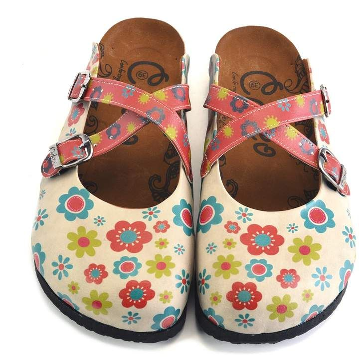 497ed2c9820f Calceo Hand Painted Leather Clog