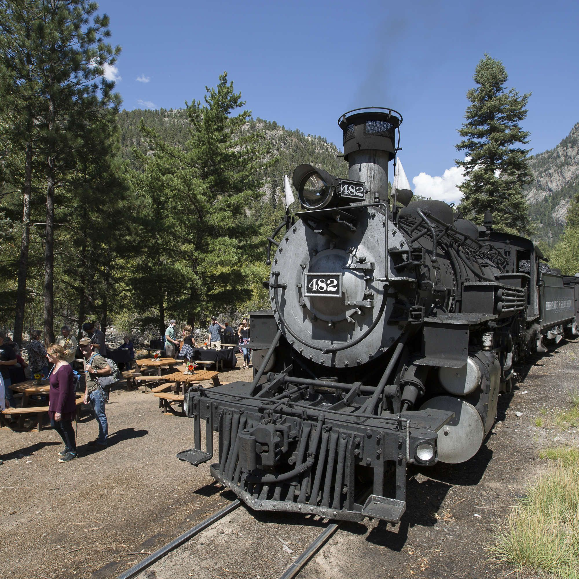 This Beer Train Takes You Into The Mountains On A Day Long Beer