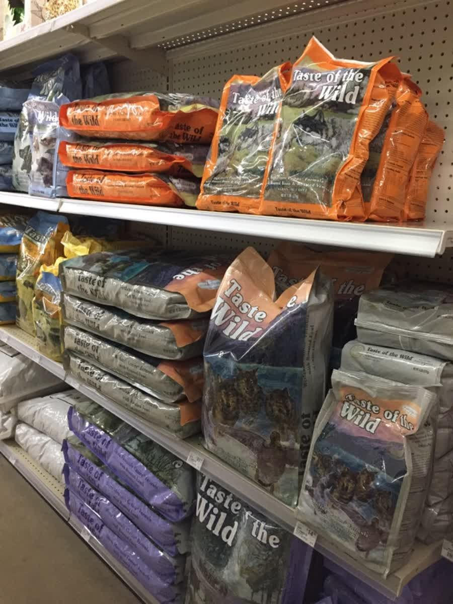 Let your dog taste the wild stop in and pick up a bag