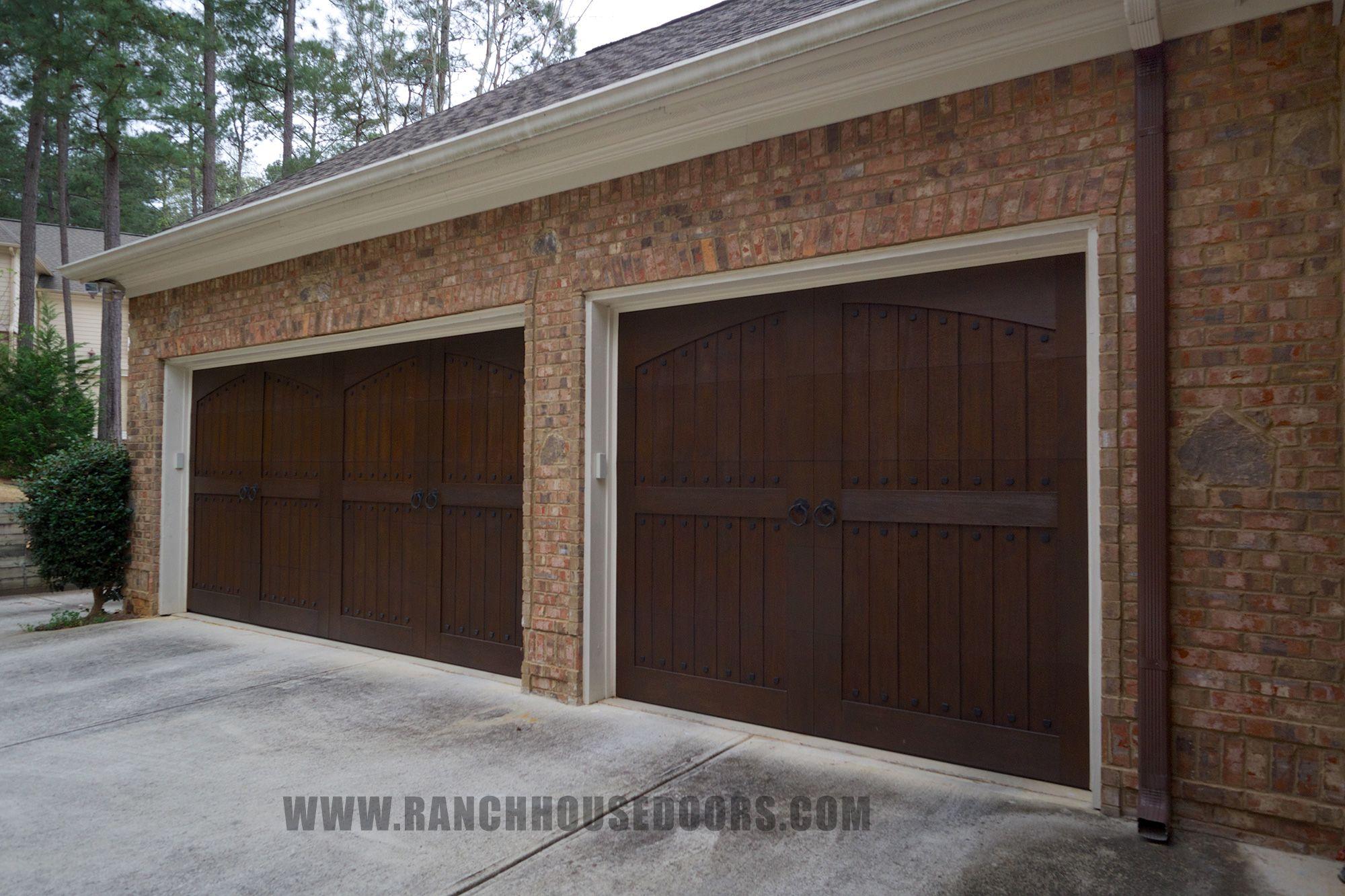 Ranch House Doors Elements Collection Faux Wood Garage Doors