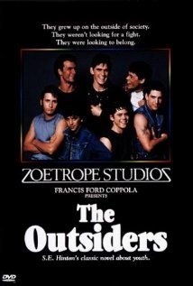 THE OUTSIDERS - THE COMPLETE NOVEL. Despite Coppola's tinkering, this melodramatic 80s classic still stands up well. 4 stars