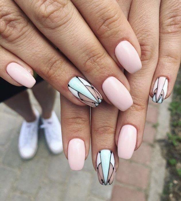 Diseños de uñas 2020 elegantes