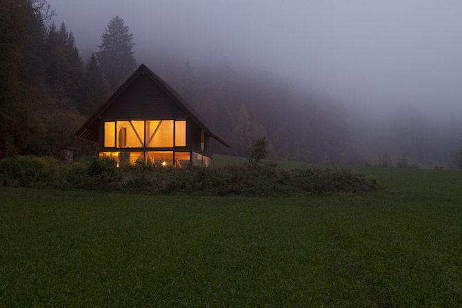 Pascal Flammer: House in Basthal - Thisispaper Magazine