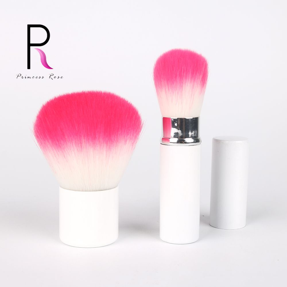 Kabuki Brush Retractable Adjustable Foundation Blush Cream Kuas Hello Kitty Powder Metal Handle Make Up Brushes Makeup Tool Brd023 Beauty Essentials