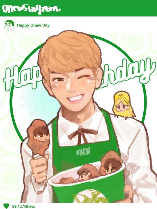 Onew happy birthday 14/12/2015