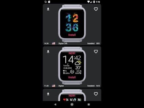My WatchFace for Amazfit Bip v2.1 Download [ AD FREE ] APK