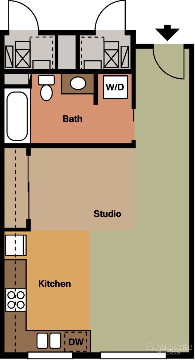 Studio Apartments For Rent In Salt Lake City