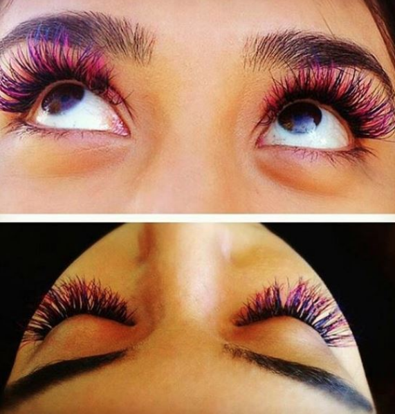 65b0d982065 Who else is loving these pink lash extensions? | Pop With Color ...