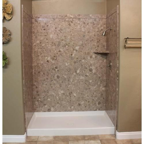Flexstone 60 X36 X78 Royal 3 Panel Tub Or Shower Kit At Menards