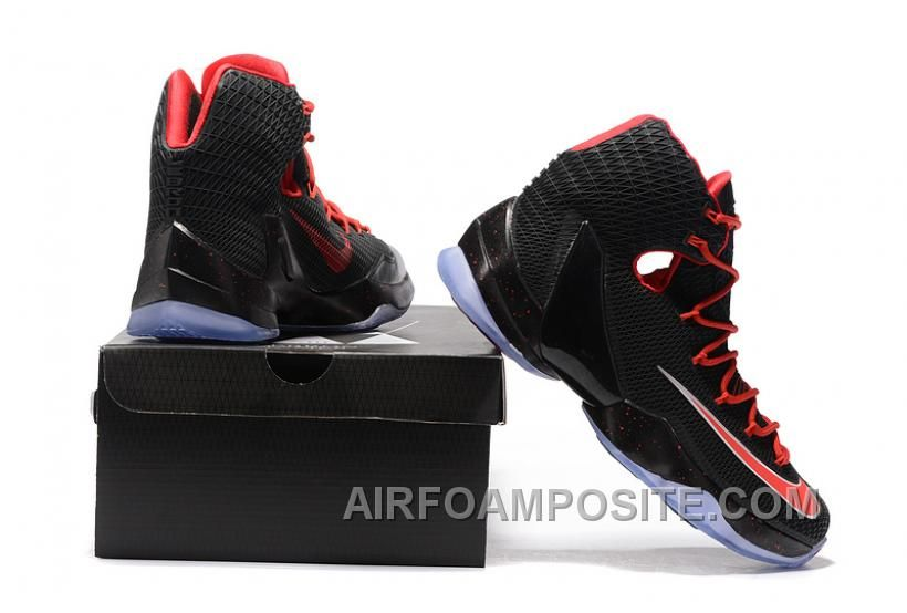 detailed look 0e065 c19ab http   www.airfoamposite.com lebron-13-elite-black-red-jhstf.html LEBRON 13  ELITE BLACK RED JHSTF Only  90.00 , Free Shipping!   Nike Lebron 13    Pinterest ...
