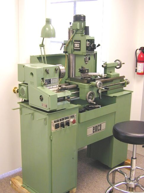 Thread Emco Maximat V10p And Mill Head For Sale