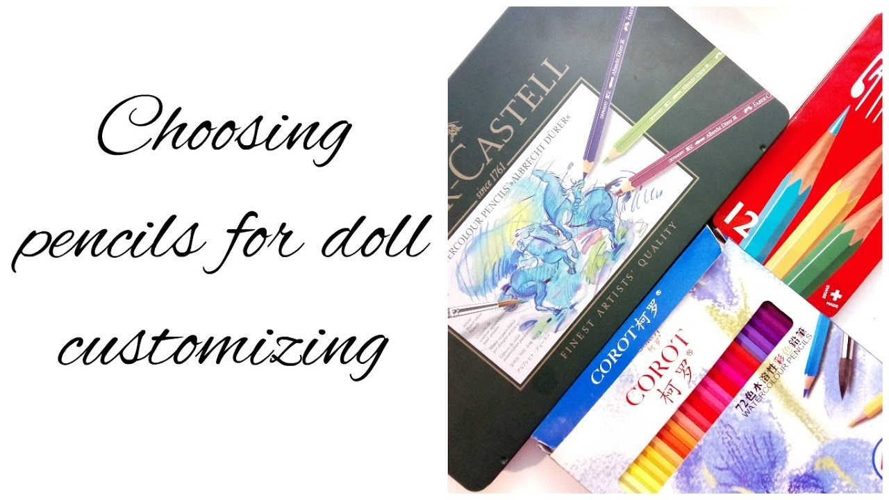 Doll Repaint How To Choose Pencils Pencils From Aliexpress Vs