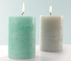 Scented Candles, set of 2