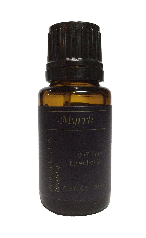 Myrrh Essential Oil (Commiphora myrrha), 100% Pure, 15 ml -- Remarkable product available now. : aromatherapy oils