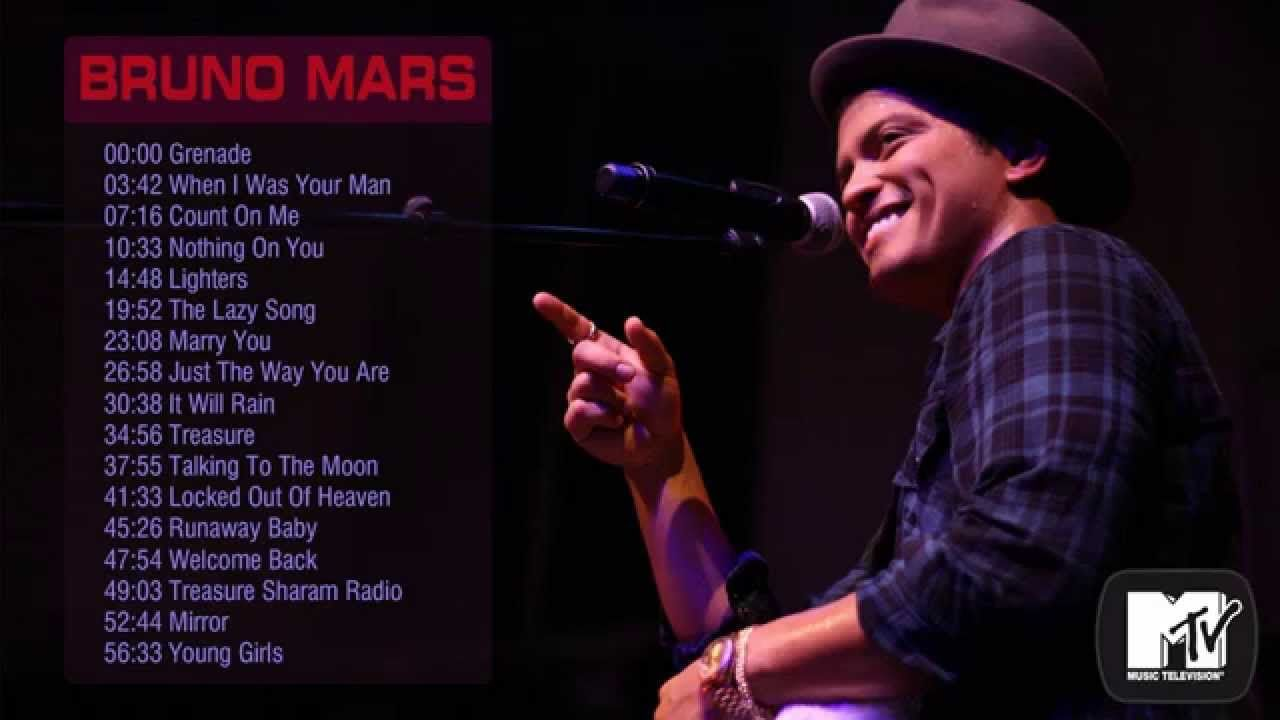All of bruno mars albums
