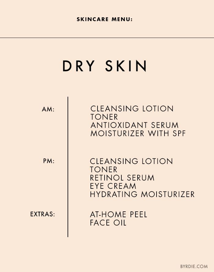 The Exact Regimen You Should Be Following For Your Skin Type Tips For Oily Skin Skin Tips Skin Care