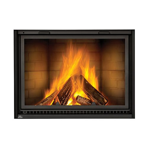 Napoleon High Country Wood Burning Fireplace  NZ8000 is part of Country Home Accessories Fireplaces - Napoleon High Country Wood Burning Fireplace  NZ8000The Napoleon High Country 8000 is a large, clean face wood fireplace with an exceptionally wide viewing area  The exclusive counterbalanced ZERO GRAVITY door system operates the screen and heat radiating ceramic glass independently, allowing the fire to be viewed through either the glass, screen or both  Boasting a large firebox that is lined with custom molded refractory brick, the High Country 8000 can hold up to 50 lbs of wood  The powerful air wash system keeps the glass clean while the air sweeps across the ember bed for extremely fast startups  Additional Product FeaturesFirebox aerodynamics allow you to open the door without drawing smoke into the roomZERO GRAVITY glass and screen doors have precision 4 way roller system that has been proven and tested to 50 years of operationZERO GRAVITY glass and screen door operate independently10  diameter chimney allowedFlue damper and outside air damper close 100% when not in use to minimize heat lossSteel andirons in charcoal finish are includedOutside air control lever is included Glass swings open for easy cleaningGloves included with unitCalifornia residents please click on the link for information on Proposition 65 BEFORE purchasing