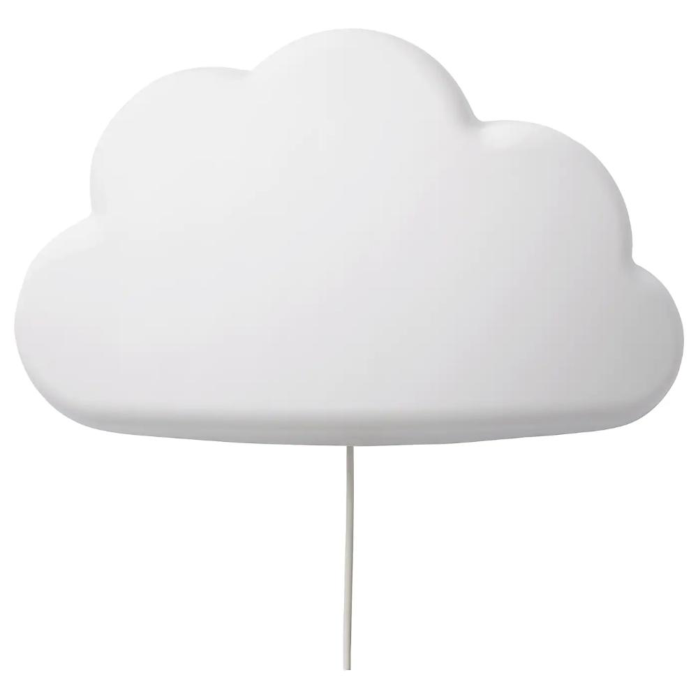 UPPLYST cloud white, LED wall lamp IKEA