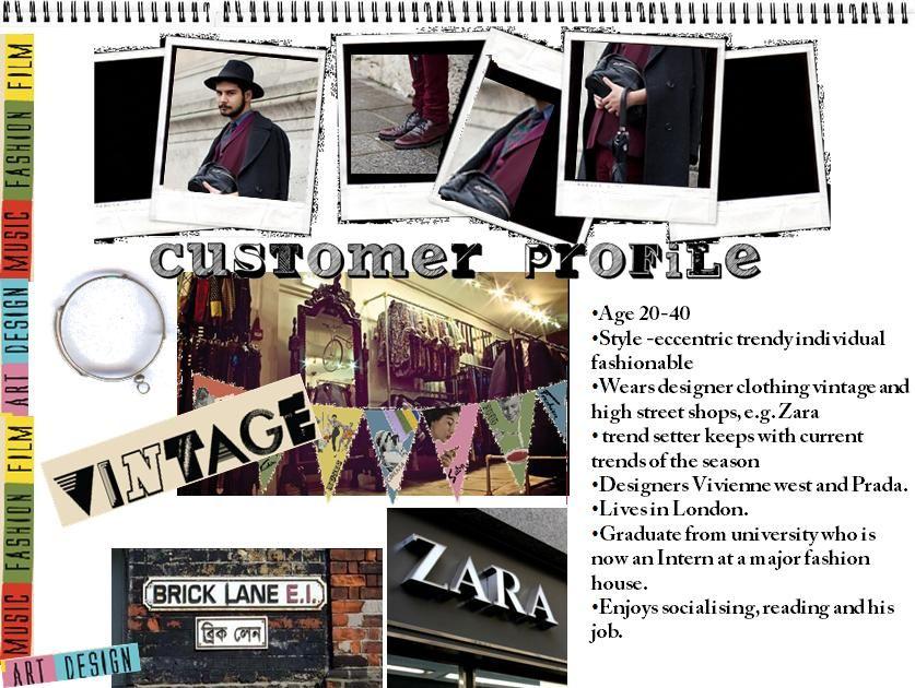 Customer Profile  Brand Strategy Personas    Profile