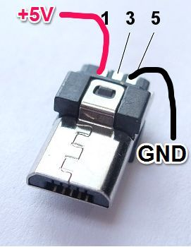 Micro Usb Wiring : micro, wiring, Micro, Pinout,, Because, Everything, Terrible, Never, Building, Crafting, Japanese, Techniques, Electronics,, Electronics, Projects