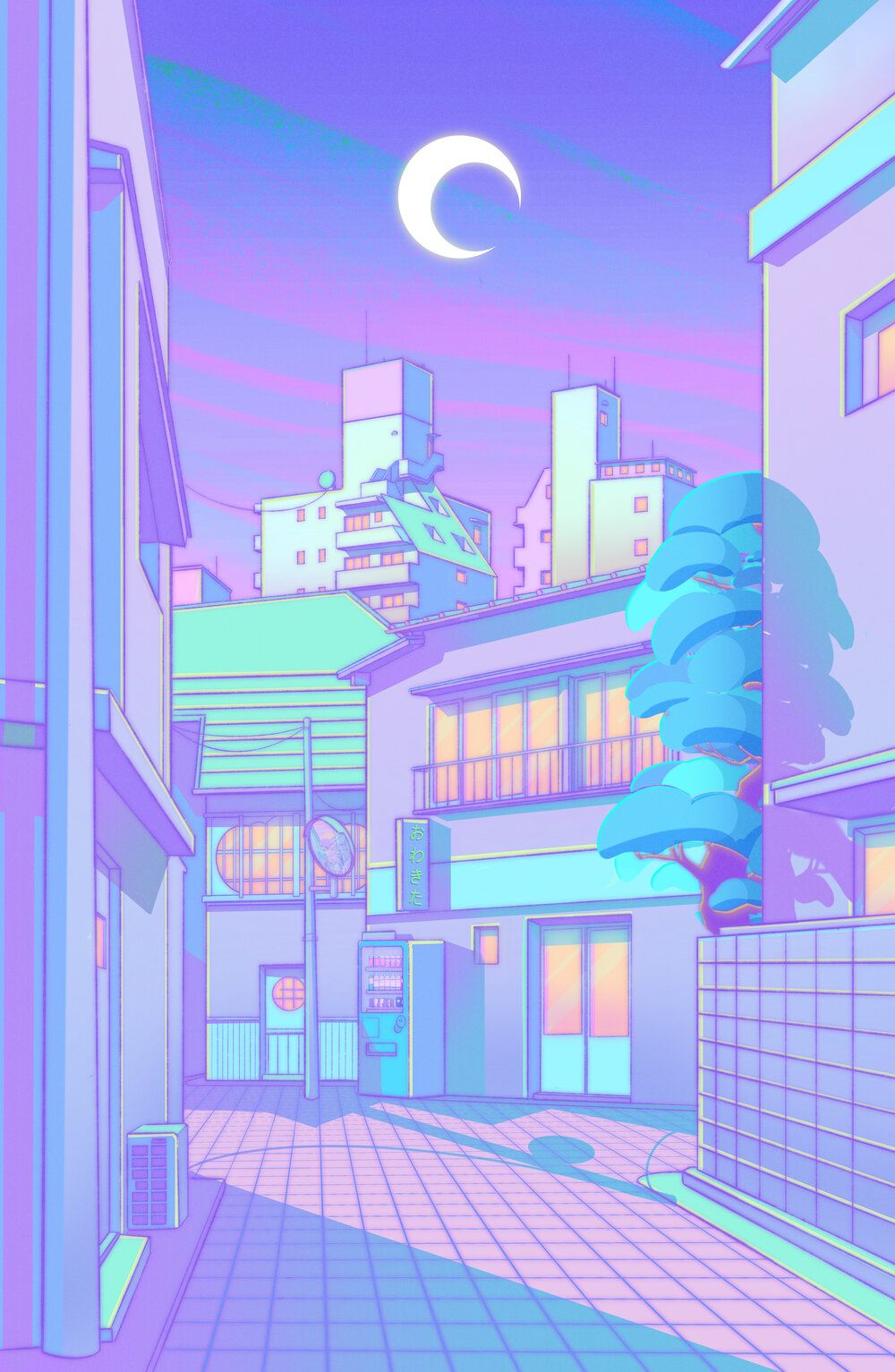 Download for free 45+ aesthetic anime wallpapers. Elora Pautrat - illustrations in 2020   Cute pastel ...