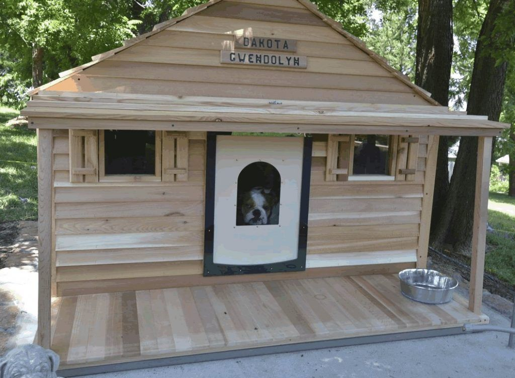 Lovely Insulated Dog House Plans For Large Dogs Free Insulated