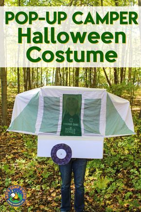 Pop Up Trailer Camper Halloween Costume Tutorial