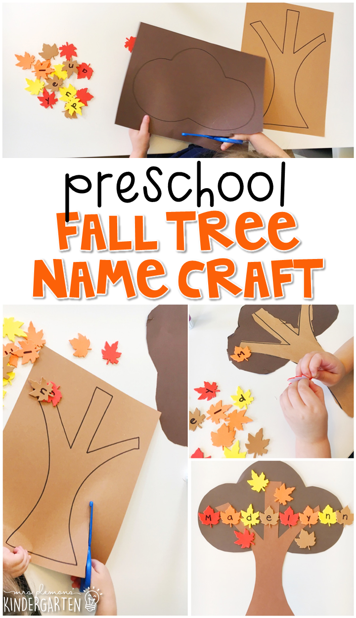 Preschool: Fall #fallcraftsforkidspreschool