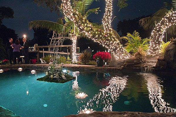 blog post christmas pool decoration ideas