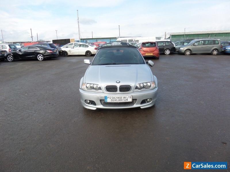 2001 BMW 330 CI SPORT CONVERTIBLE DAMAGED REPAIRABLE