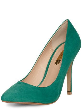green high pointed court shoes  shoes court shoes green