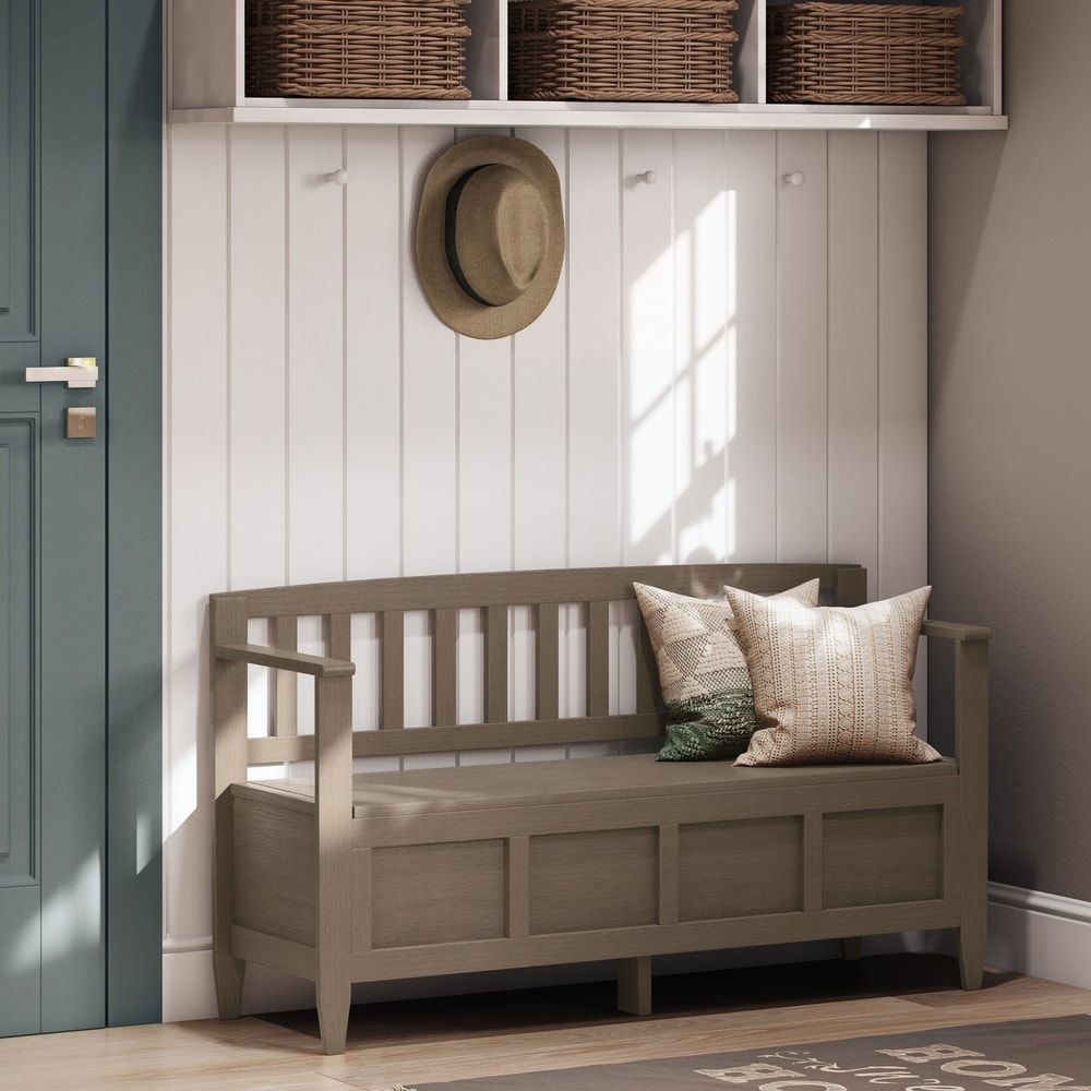 WYNDENHALL Riverside Solid Wood 48 inch Wide Contemporary