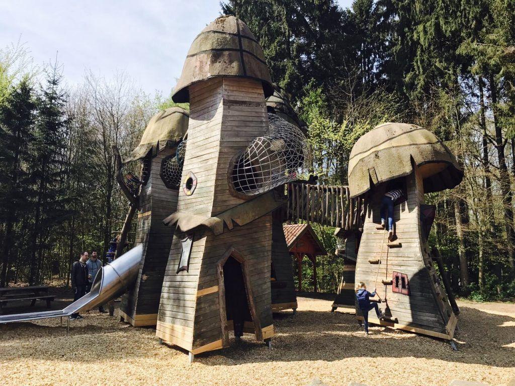 Kletterburg Im Wildpark Frankenhof In 2021 Ausflug Ausflug Nrw Dinosaurier Park